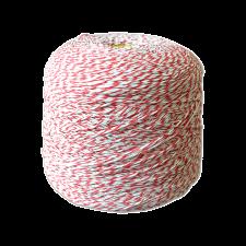 Шпагат для колбас хб бело-красный Бухта 2,1 кг